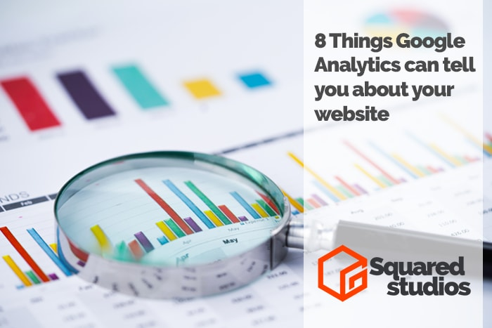 8 Things Google Analytics can tell you about your website